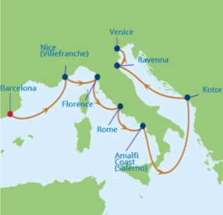 our cruise destinations