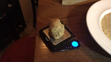 71 grams of white truffle